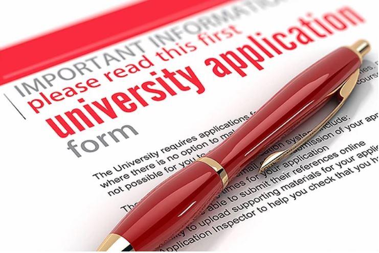 Writing university applications